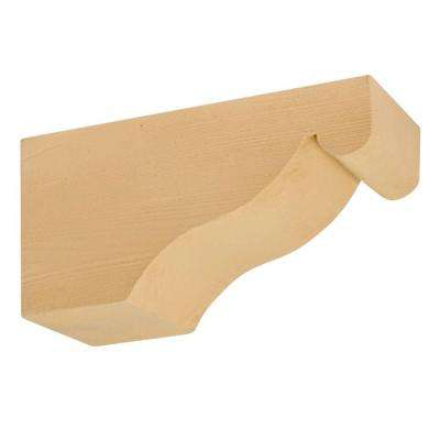 6 in. x 7-1/4 in. x 14-1/2 in. Polyurethane Timber Corbel