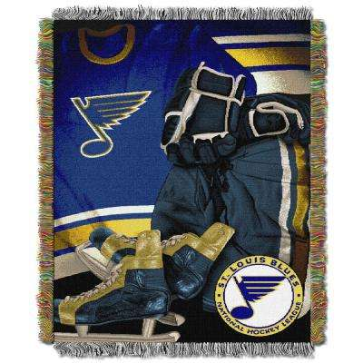 Blues Multi Color Vintage Tapestry Throw