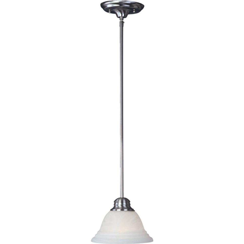 Maxim Lighting Pico 1-Light Satin Nickel Mini Pendant Maxim Lighting's commitment to both the residential lighting and the home building industries will assure you a product line focused on your lighting needs. With Maxim Lighting you will find quality product that is well designed, well priced and readily available. Shop the Pico Collection for mini pendants in two different finishes, Satin Nickel and Oil Rubbed Bronze.