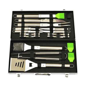 G & F 20 Pieces Quality Stainless Steel BBQ Tools Set by G & F