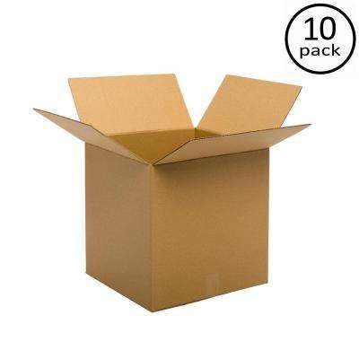 24 in. L x 24 in. W x 24 in. D  Double Wall Moving Box (10-Pack)