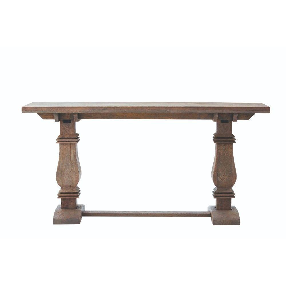 Aldridge Antique Walnut Console Table