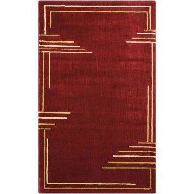 Parallels Multicolor 2 ft. 3 in. x 3 ft. 9 in. Area Rug