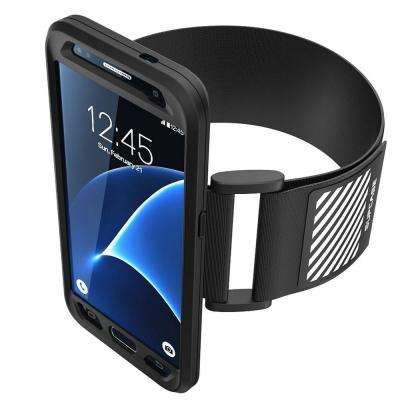 SUPCASE-Galaxy S7 Sport Armband and Flexible Case Combo-Black
