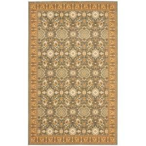 Safavieh Treasures Blue Caramel 4 Ft X 6 Area Rug Tre215 6522 The Home Depot