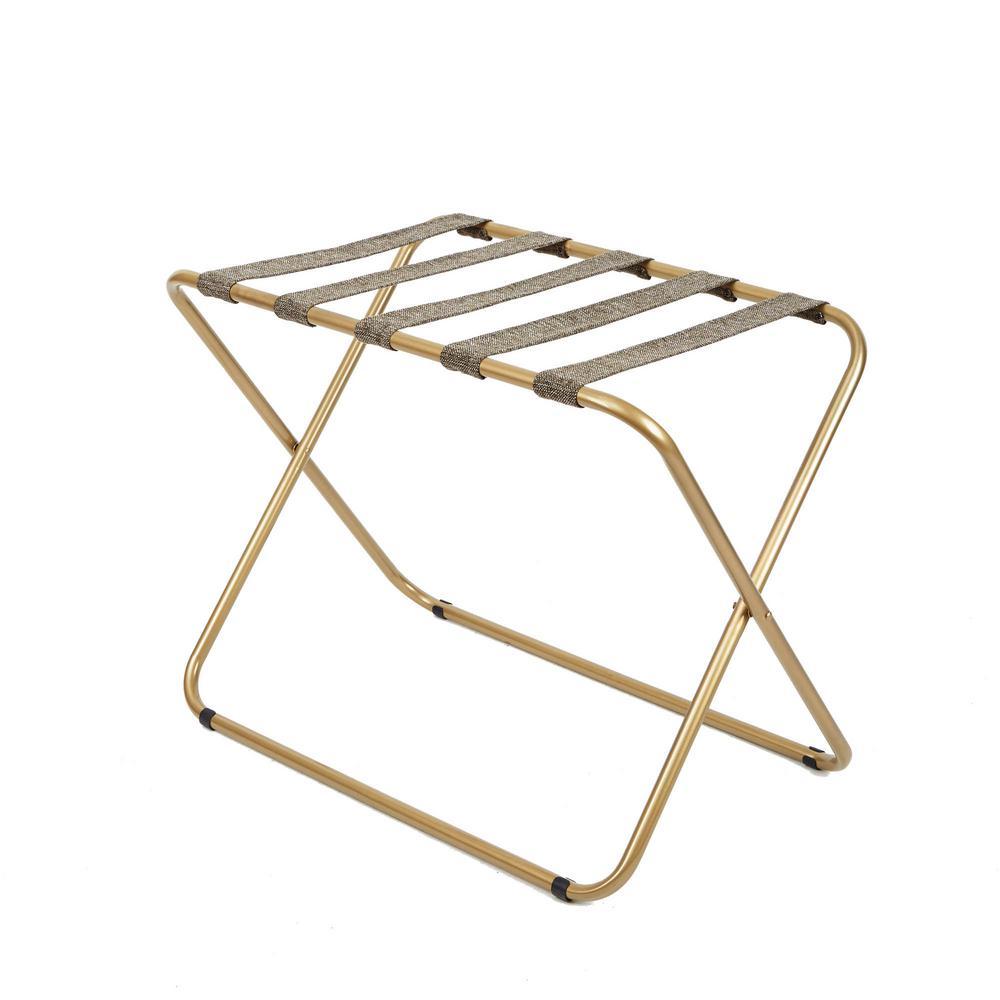 Rhys Luggage Rack Gold Coat Rack