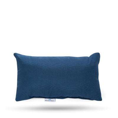 Outdura Sparkle Baltic Rectangular Lumbar Outdoor Throw Pillow (2-Pack)