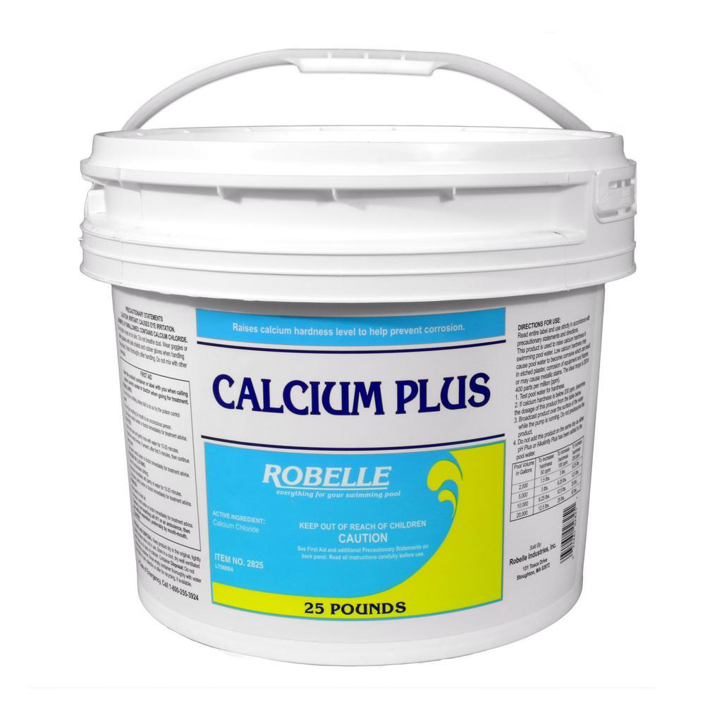 Robelle 25 Lb Calcium Plus For Swimming Pools 2825 The