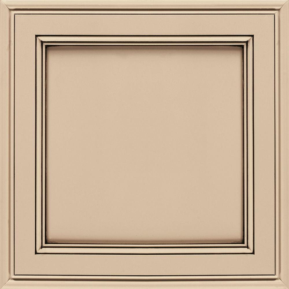 14.5x14.5 in. Girard Cabinet Door Sample in Kashmir Espresso