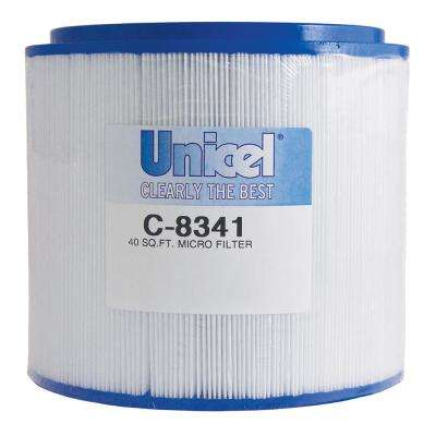 8000 Series 8 in. Dia x 6-3/4 in. 40 sq. ft. Replacement Filter Cartridge with 4 in. Opening