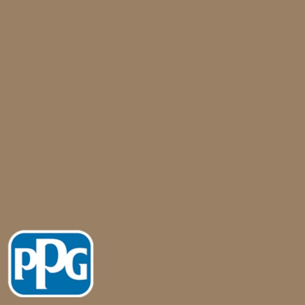 PPG TIMELESS 8 oz. #HDPPGY13D Tall Tree Bark Brown Eggshell Interior/Exterior Paint Sample