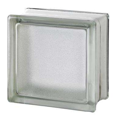 White 5.75 in. x 5.75 in. x 3.15 in. Classic Non-Tinted Glass Block (6-Pack)