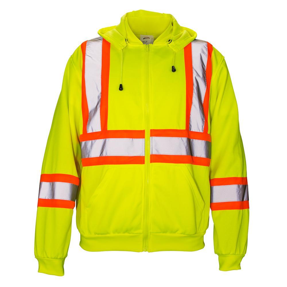 SAS Safety 2X-Large Class 2 Hooded Sweatshirt