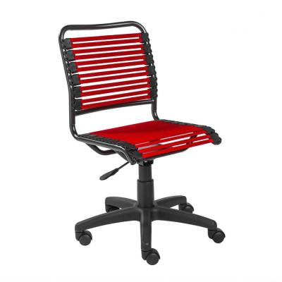 Amelia Red Low Back Office/Desk Chair