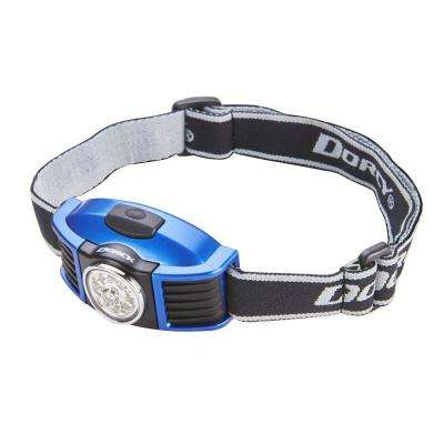 3AAA 8 LED Multi-Functional Headlight with Battery