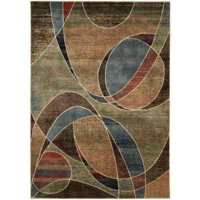 Expressions Multi 5 ft. 3 in. x 7 ft. 5 in. Area Rug