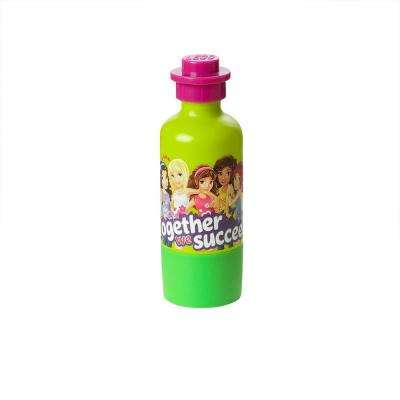 Drinking Bottle Friends Polypropylene in Lime Green