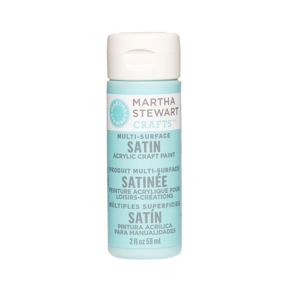 Martha Stewart Crafts 2-oz. Surf Multi-Surface Satin Acrylic Craft Paint