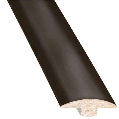 Maple Midnight 5/8 in. Thick x 2 in. Wide x 78 in. Length Hardwood T-Molding