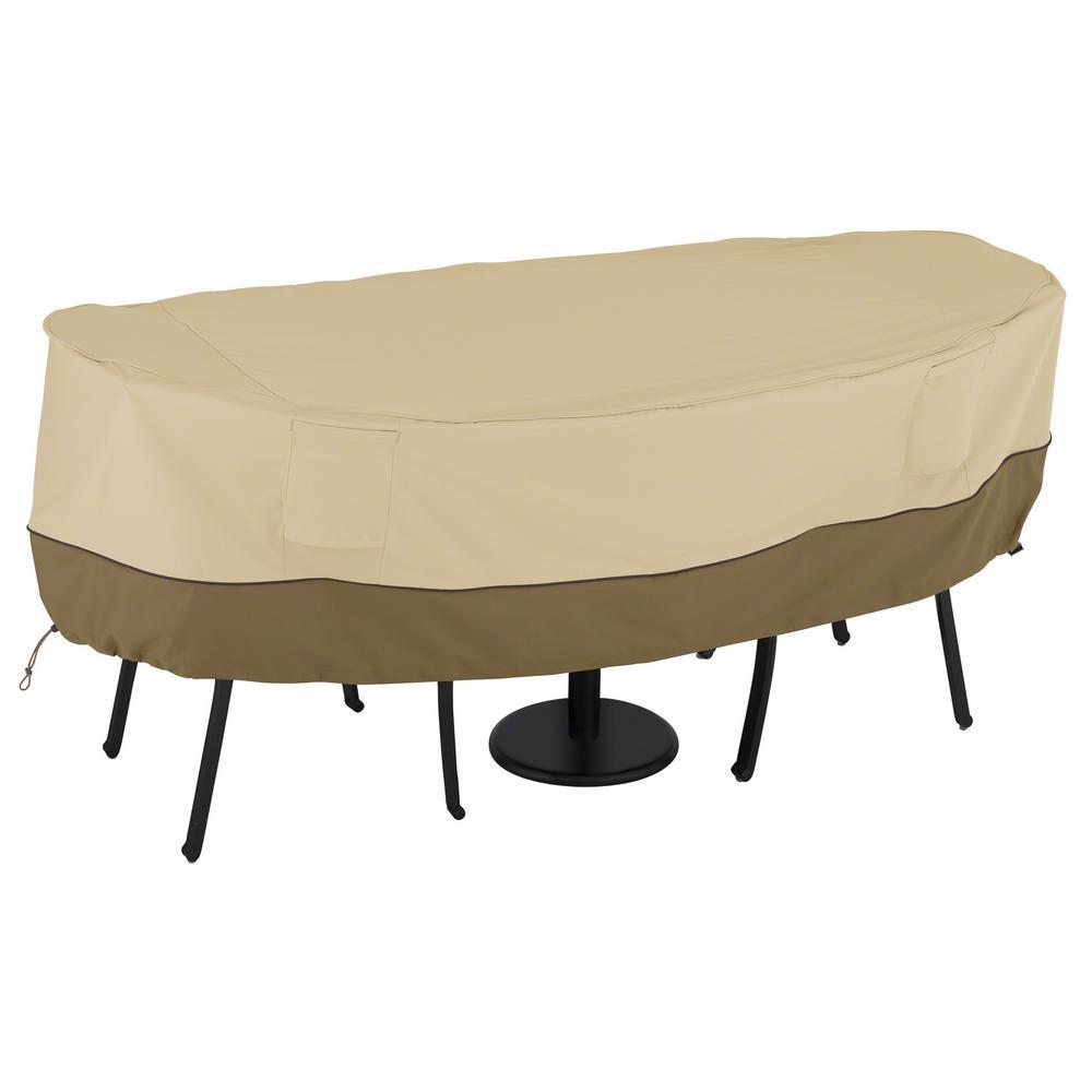 Veranda Small Bistro Patio Table and Chair Set Cover