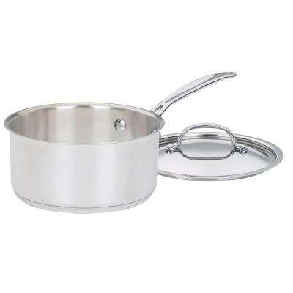 2 Qt. Stainless Steel Saucepan