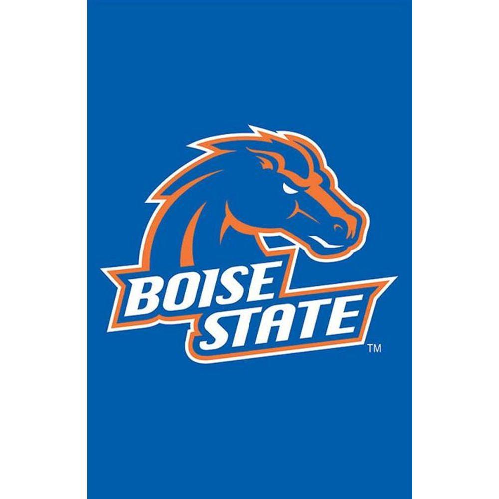 Evergreen Enterprises NCAA 12-1/2 in. x 18 in. Boise State 2-Sided Garden Flag