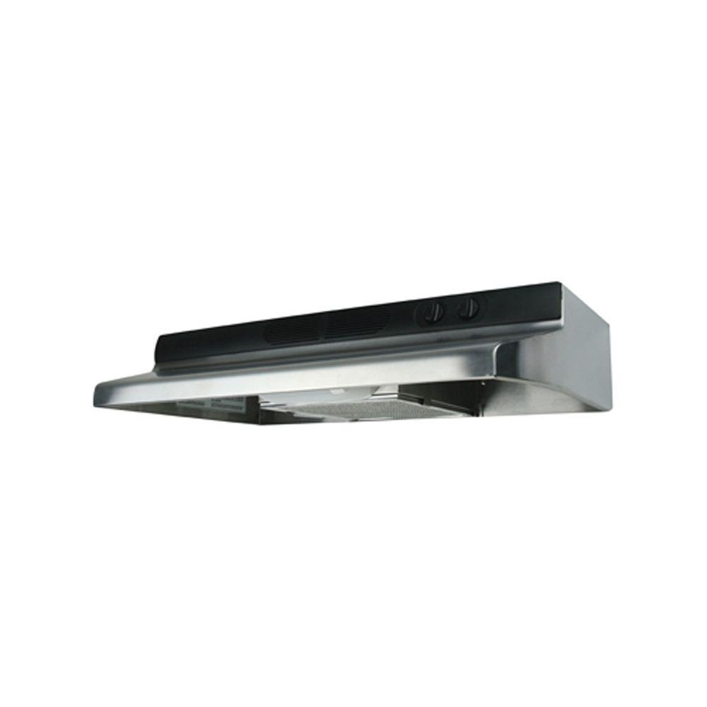 Air King Quiet Zone 36 in. Convertible Range Hood in Stainless Steel