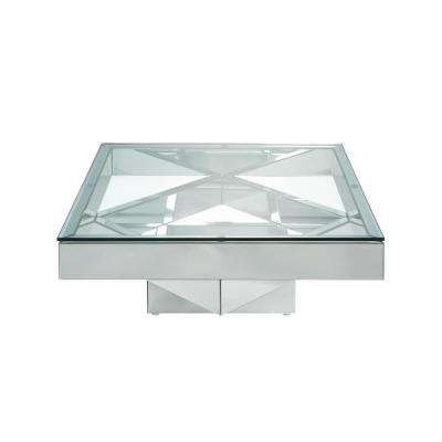 Meria Mirrored Coffee Table