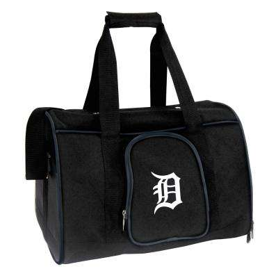 MLB Detroit Tigers Pet Carrier Premium 16 in. Bag in Navy