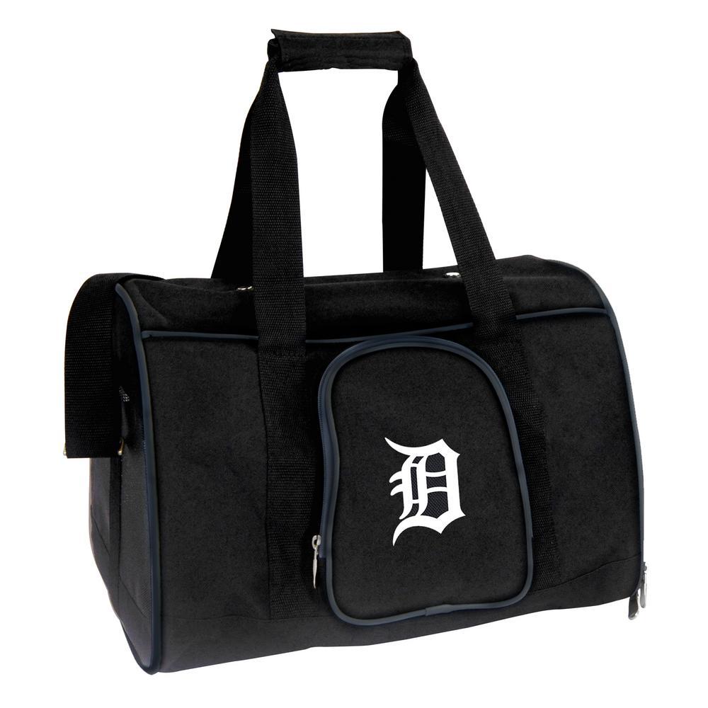 MLB Detroit Tigers Pet Carrier Premium 16 in. Bag in Navy