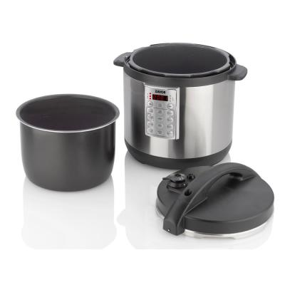 Zavor-Select 8 Qt. Stainless Steel Electric Pressure Cooker with Removable Pot