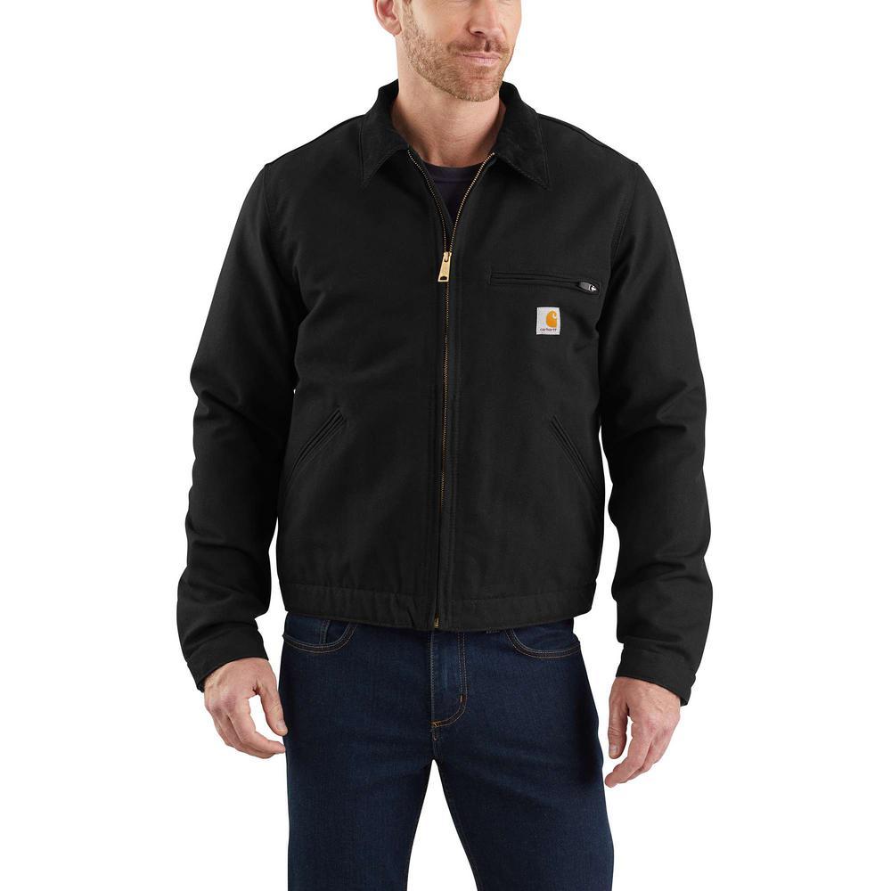 Carhartt Mens Weathered Duck Detroit Jacket