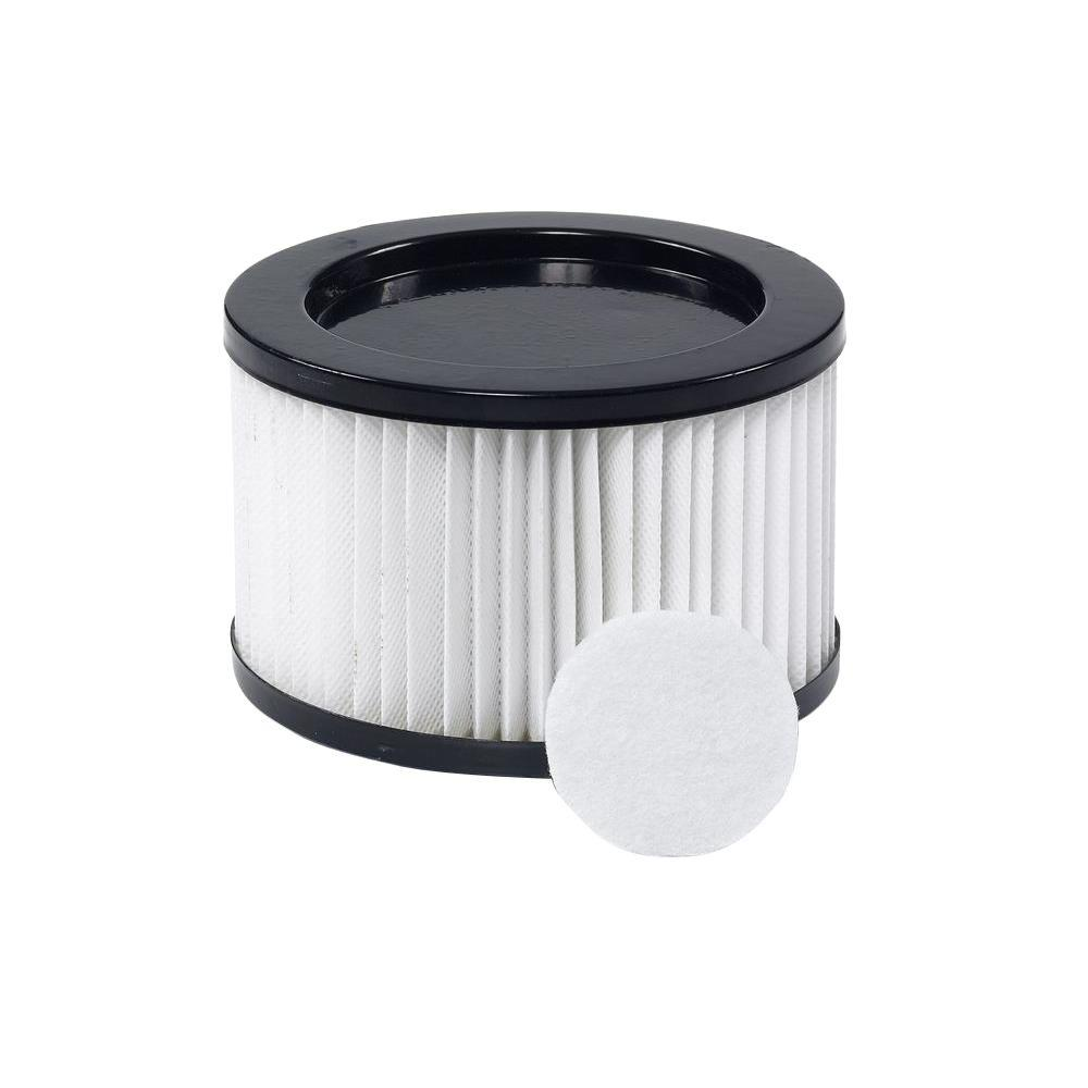 ridgid hepa media filter for ridgid dv0500 ash vacs vf1500 the home depot. Black Bedroom Furniture Sets. Home Design Ideas