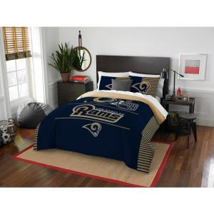 Rams 3-Piece Draft Multi Full/Queen Comforter Set by