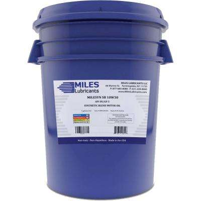 Milesyn SB 10W30 API GF-5/SN 5 Gal. Synthetic Blend Motor Oil Pail