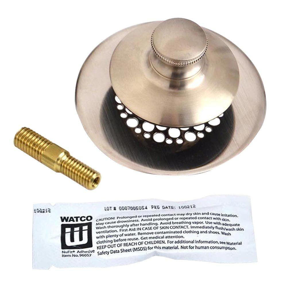 Watco Univnufit Pp Silicone And Combo Pin Brushed Nickel