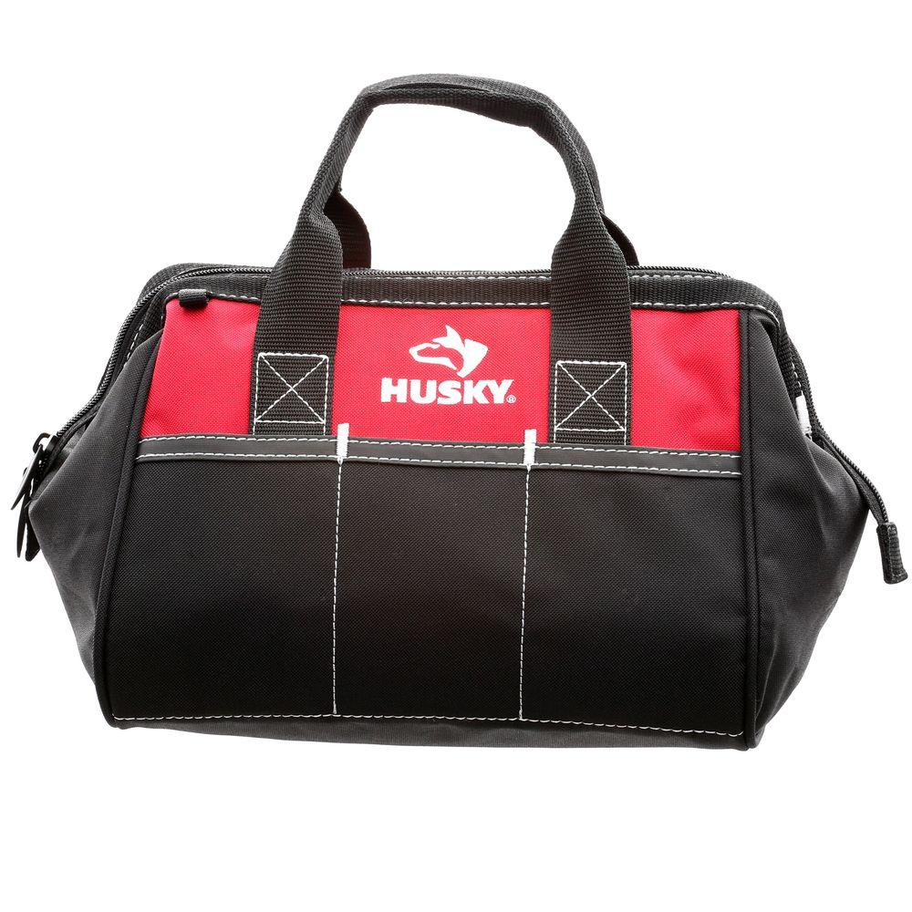 Husky 12 in. Tool Bag-82004N11 - The Home Depot dc28322942f51