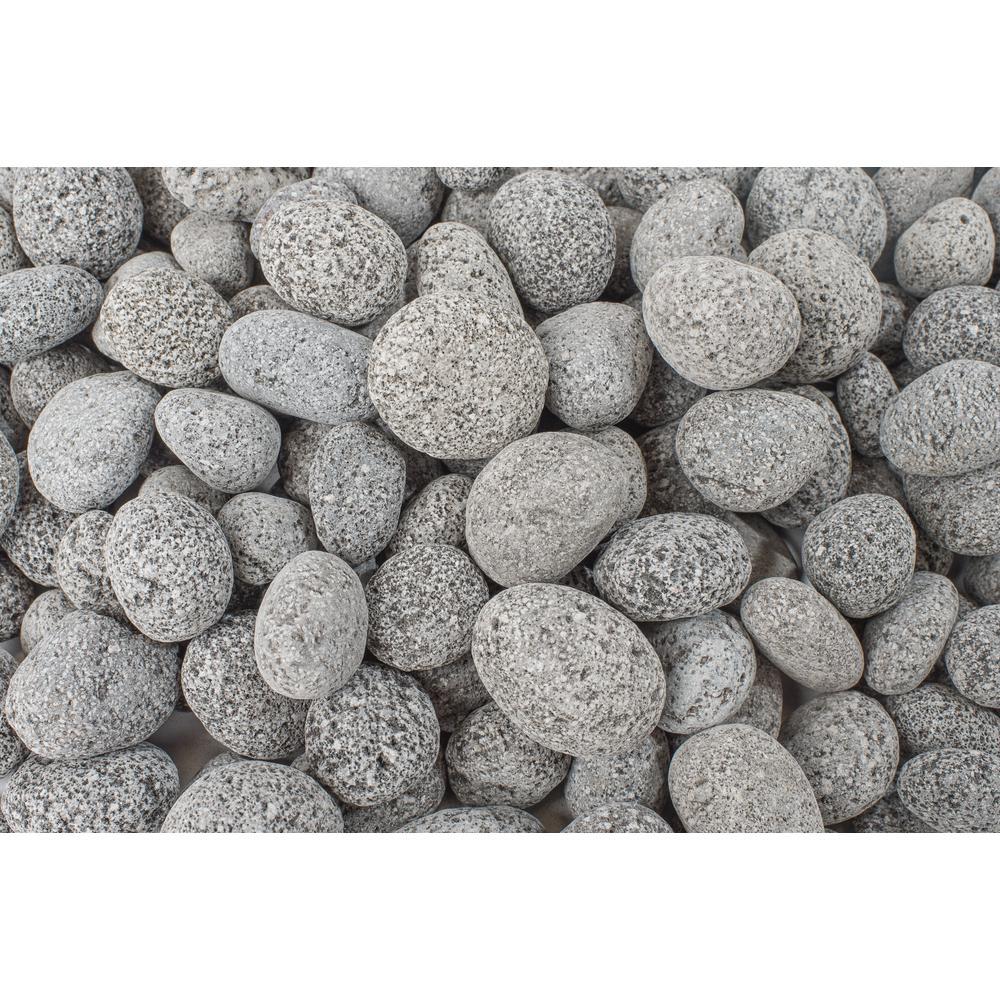 2420 lbs. Black Lava Pebble Super Sack