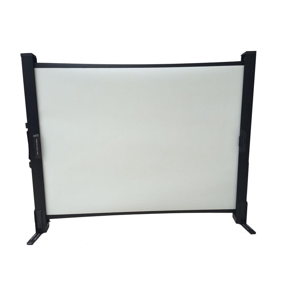 Inland 40 in. Portable Projection Screen