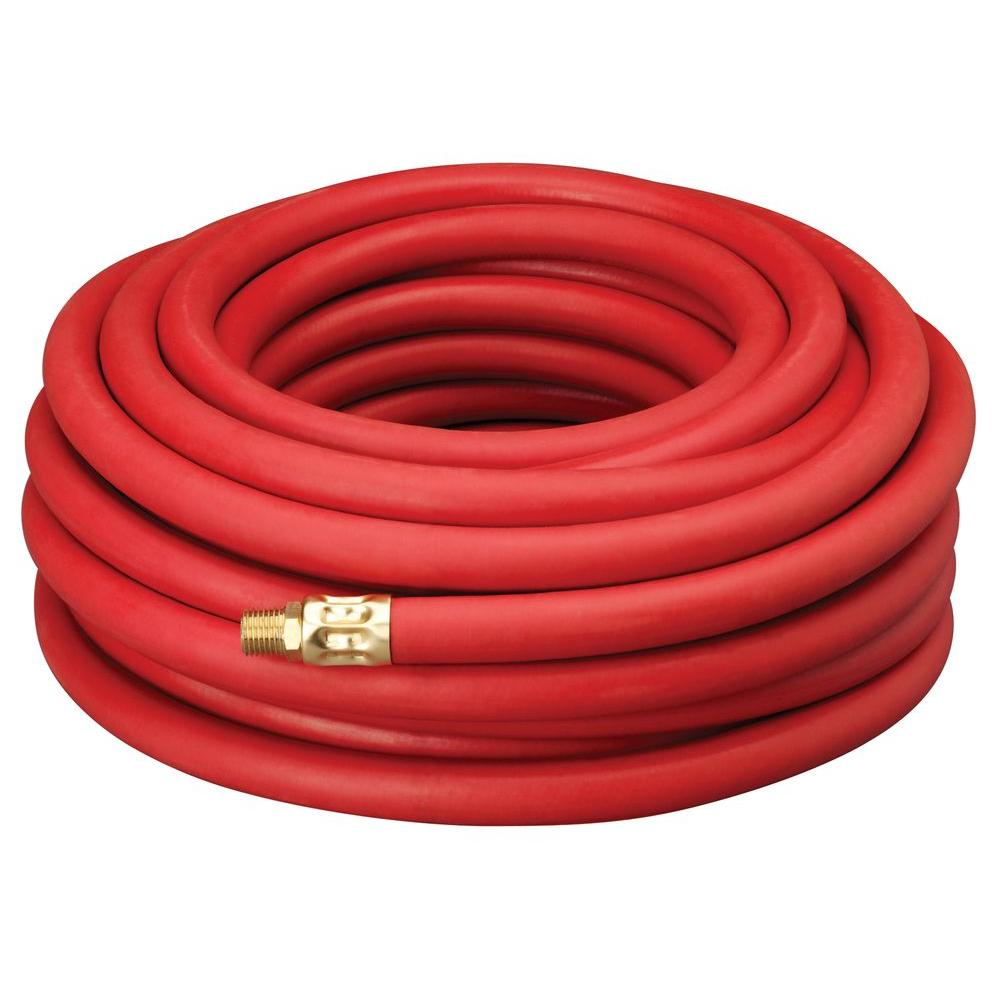 Amflo 3/8 in. x 50 ft. Red Rubber Air Hose