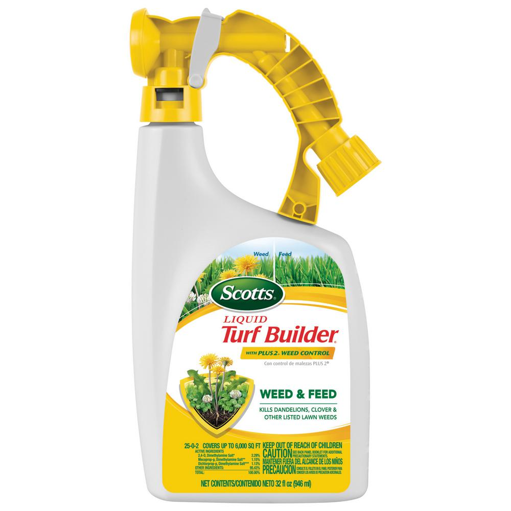 Scotts 32 oz. Liquid Turf Builder with Plus 2 Weed Control