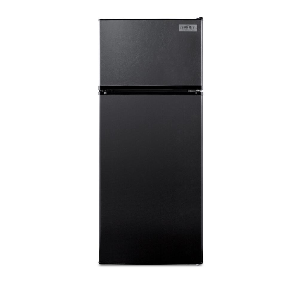 10.3 cu. ft. Frost Free Top Freezer Refrigerator In Black