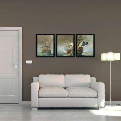Trademark Fine Art - Black - Wall Art - Wall Decor - The Home Depot