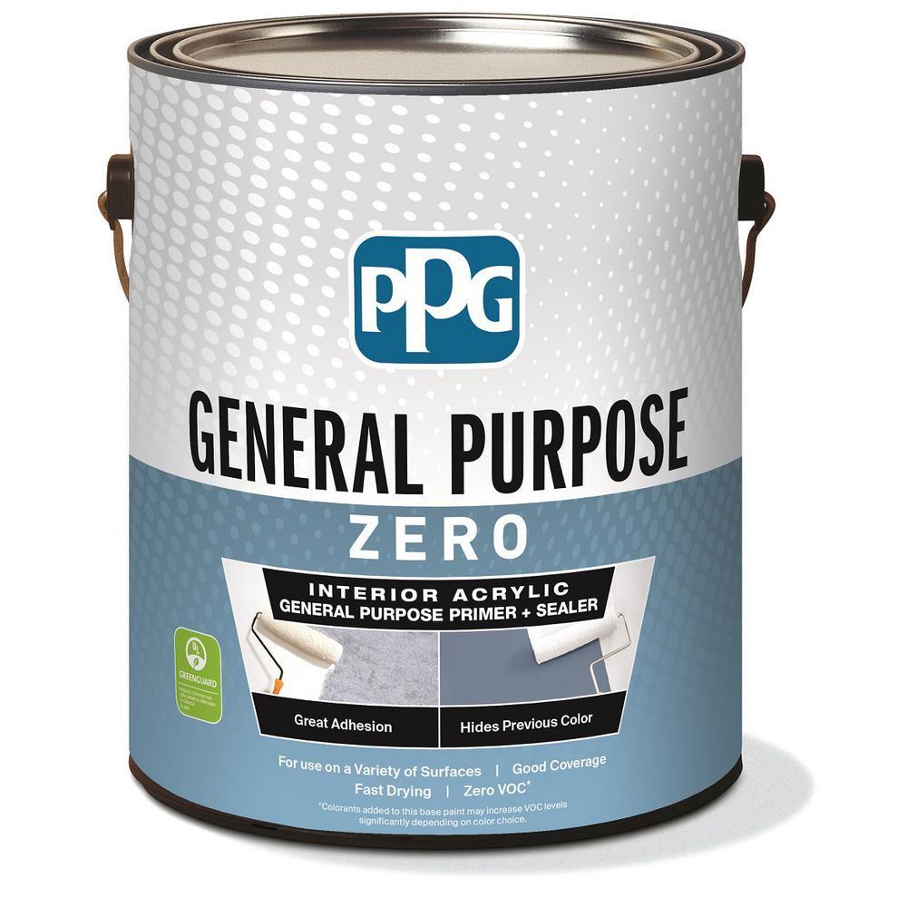 PPG 1 gal. White Interior General Purpose Primer Zero VOC