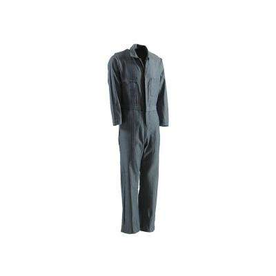 Men's 38 in. x 34 in. Fisher Stripe 100% Cotton Standard Unlined Coverall