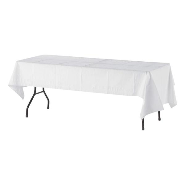 225 & 108 in. x 54 in. Embossed Paper Table Covers (20-Carton)