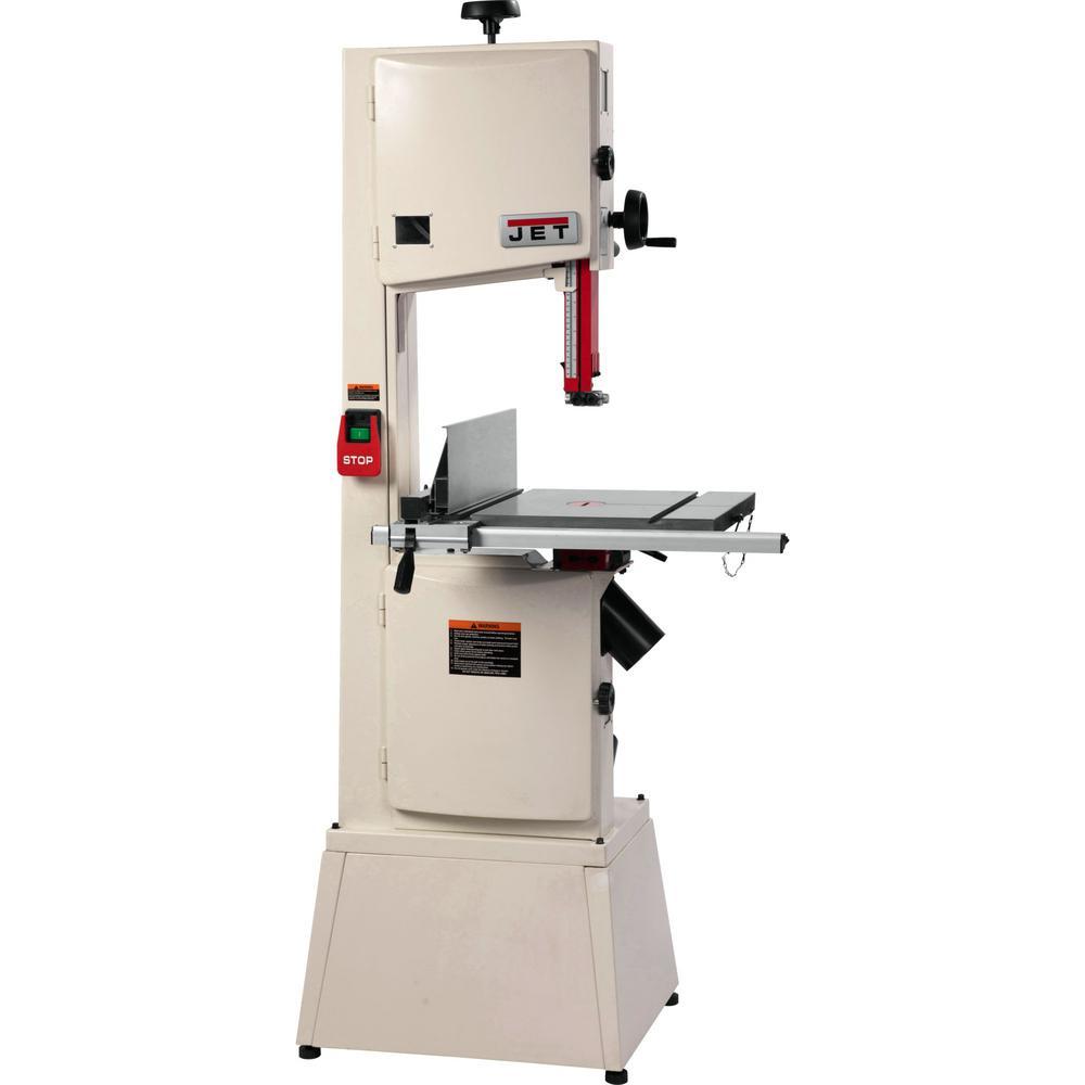 JWBS14-SFX 14 in. 1.75 HP, 1 pH, 115-Volt/230-Volt Steel Frame Bandsaw
