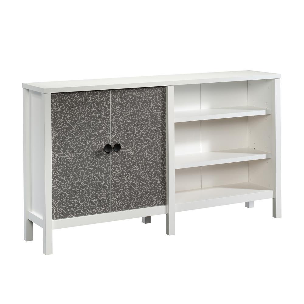 New Grange Soft White 2-Door Console Table