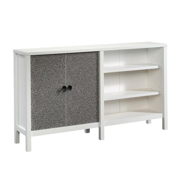 New Grange Soft White 2-Door Console Table