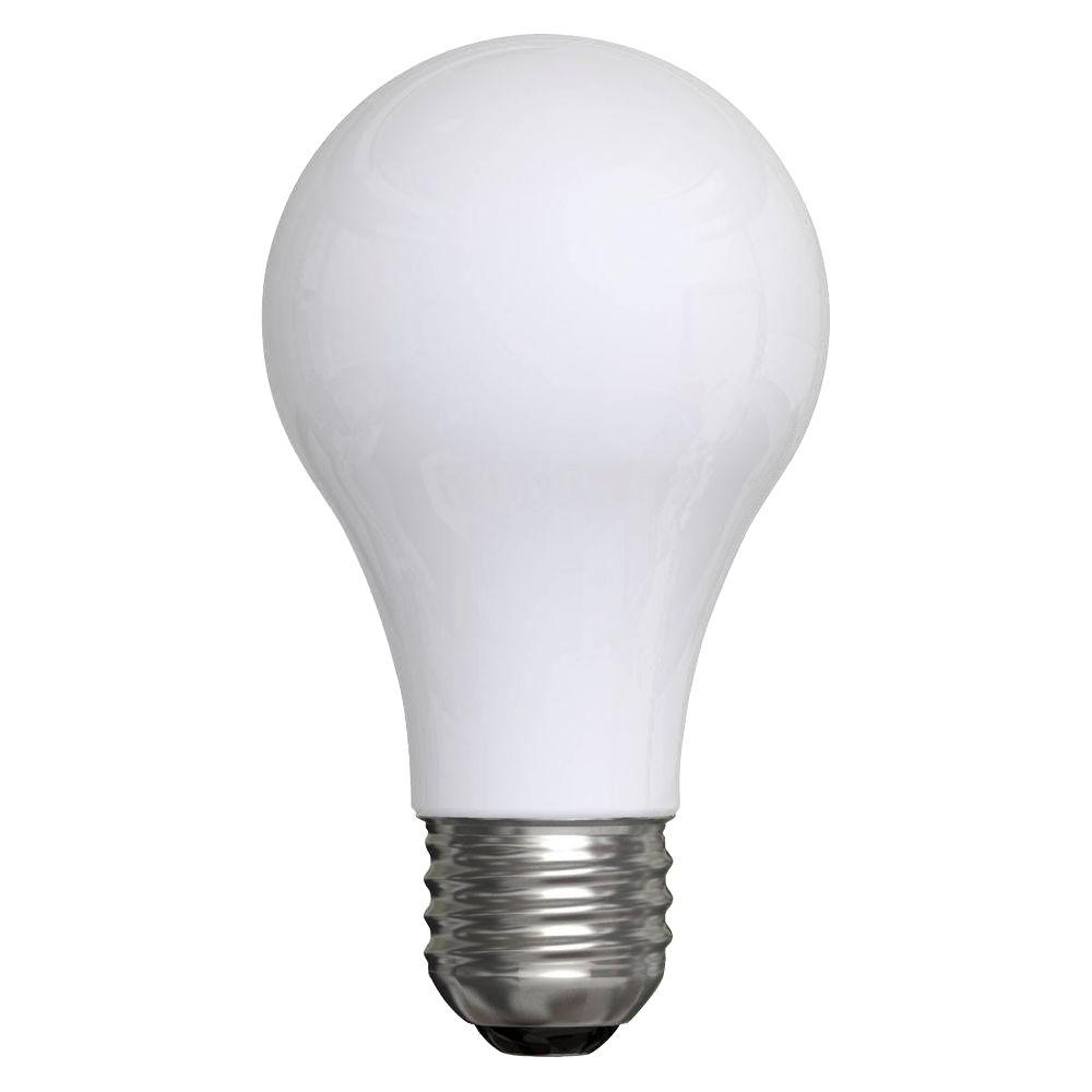 60-Watt Incandescent A19 Double Life Soft White Light Bulb (12-Pack)
